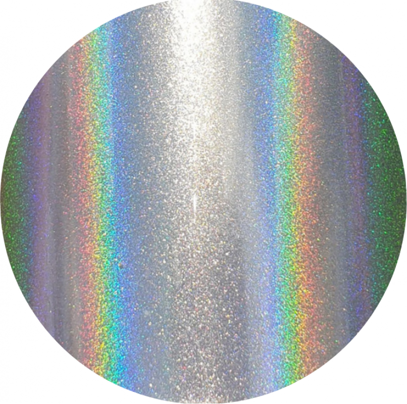 Индустриальный пигмент ZQHOLO35 Holographic silver (Голографический серебряный), 35-35 мкм