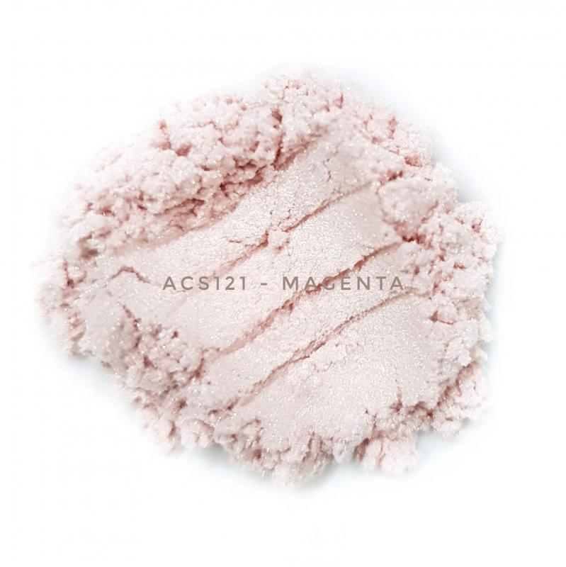Косметический пигмент ACS121 Magenta (Маджента), 10-60 мкм