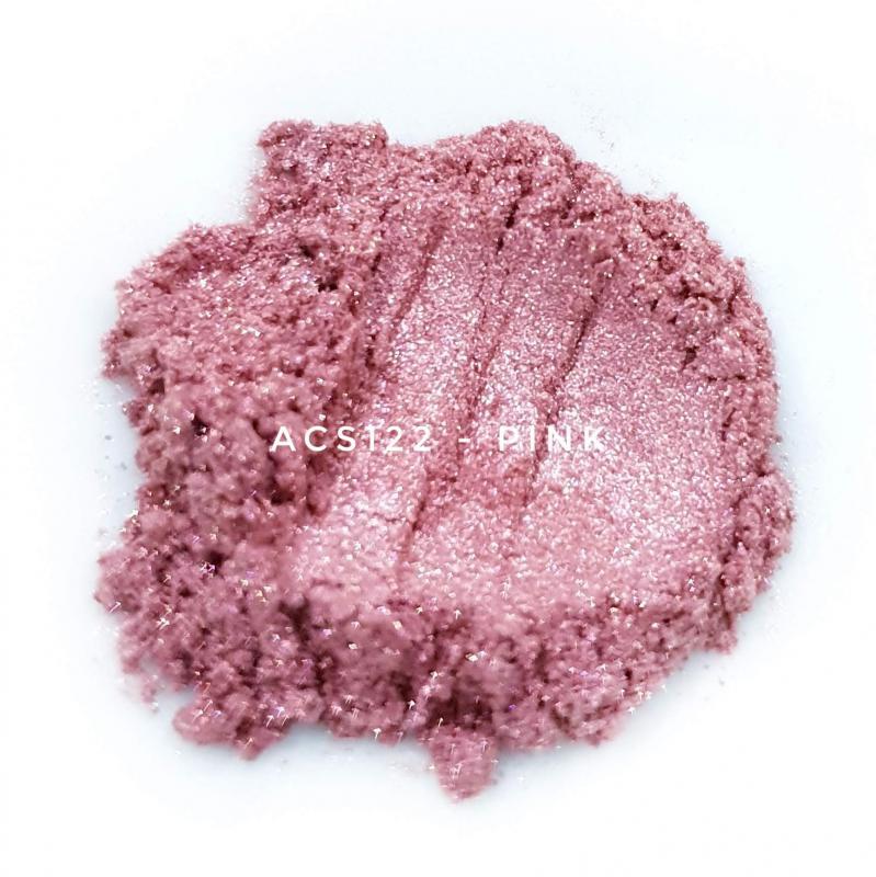 Косметический пигмент ACS122 Pink (Розовый), 10-60 мкм
