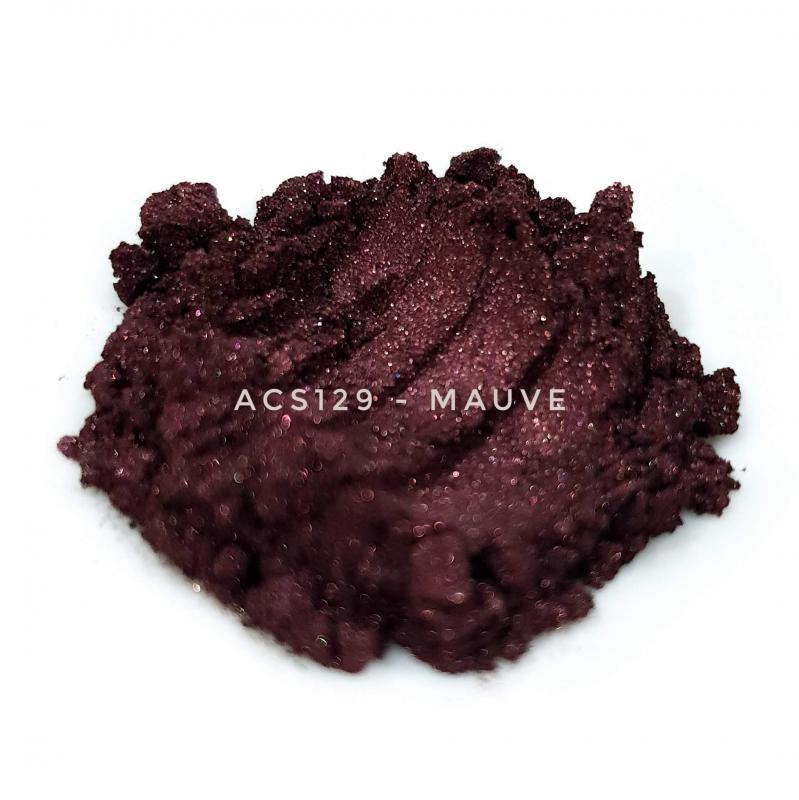 Косметический пигмент ACS129 Mauve (Малиновый), 10-60 мкм