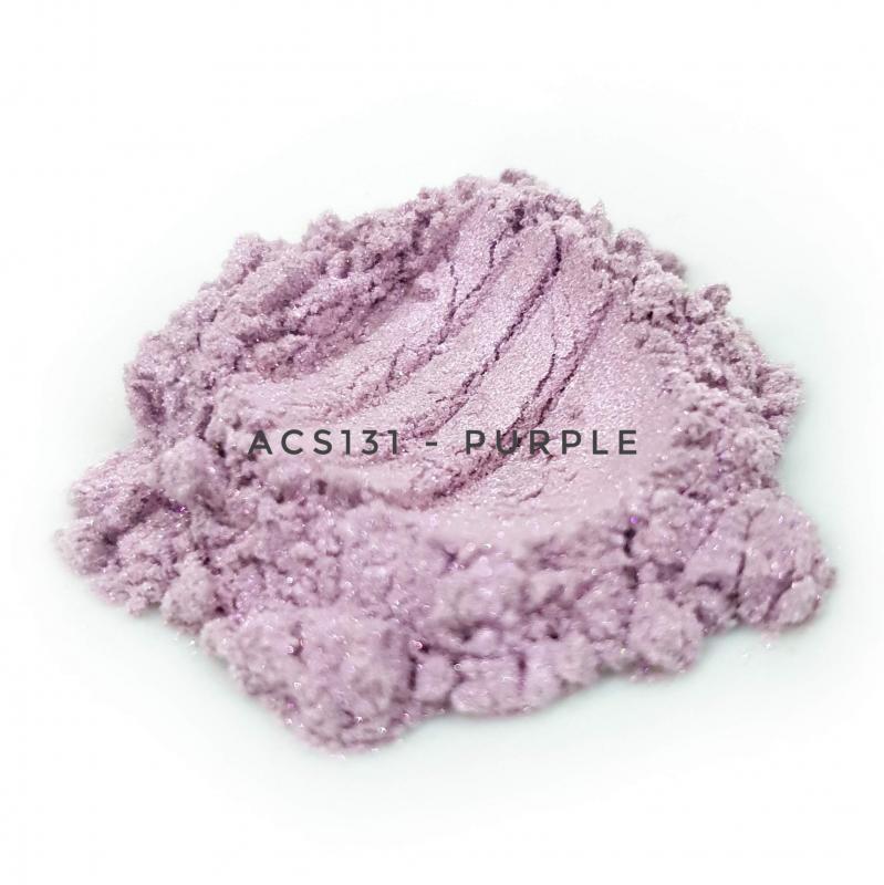 Косметический пигмент ACS131 Purple (Пурпурный), 10-60 мкм