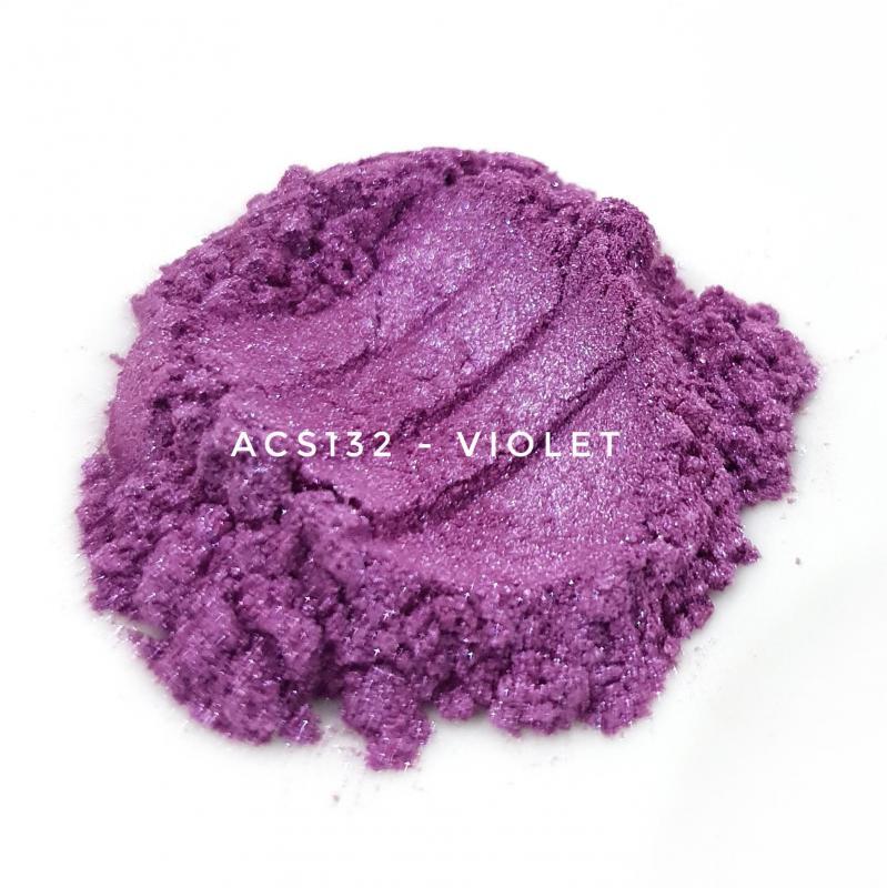 Косметический пигмент ACS132 Violet (Фиолетовый), 10-60 мкм