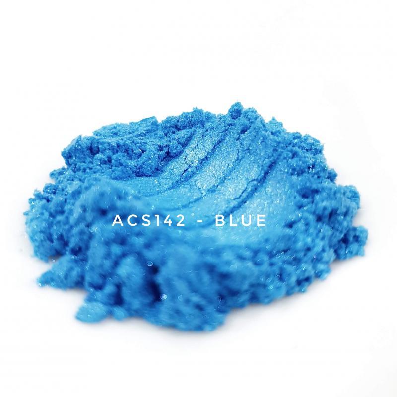 Косметический пигмент ACS142 Blue (Синий), 10-60 мкм