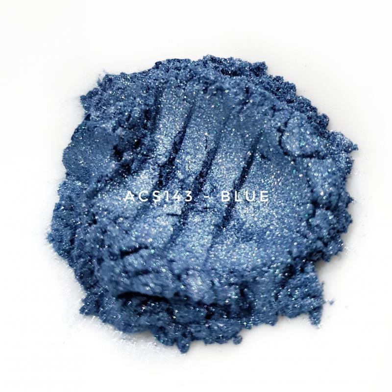 Косметический пигмент ACS143 Blue (Синий), 10-60 мкм