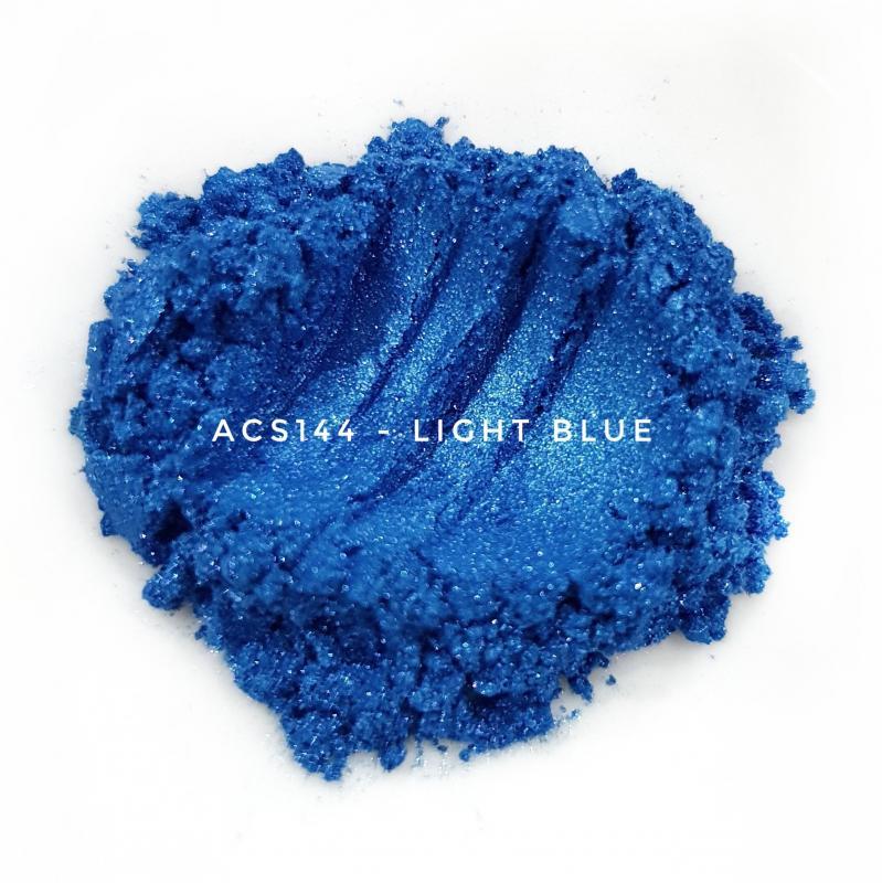 Косметический пигмент ACS144 Light Blue (Светло-синий), 10-45 мкм