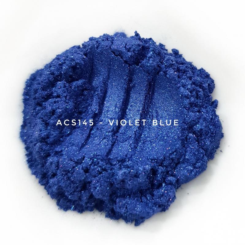 Косметический пигмент ACS145 Violet Blue (Фиолетово-синий), 10-60 мкм
