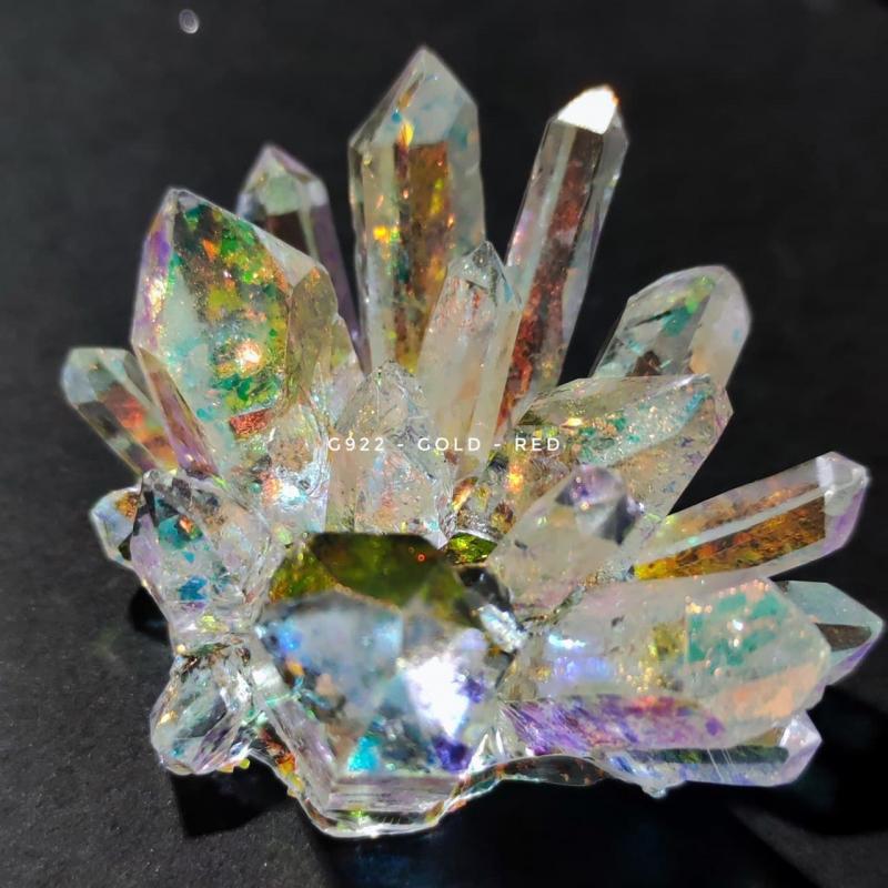 Хлопья ''суперхамелеон'' G922 - Пигмент суперхамелеон Red-Gold (20-2000 мкм)