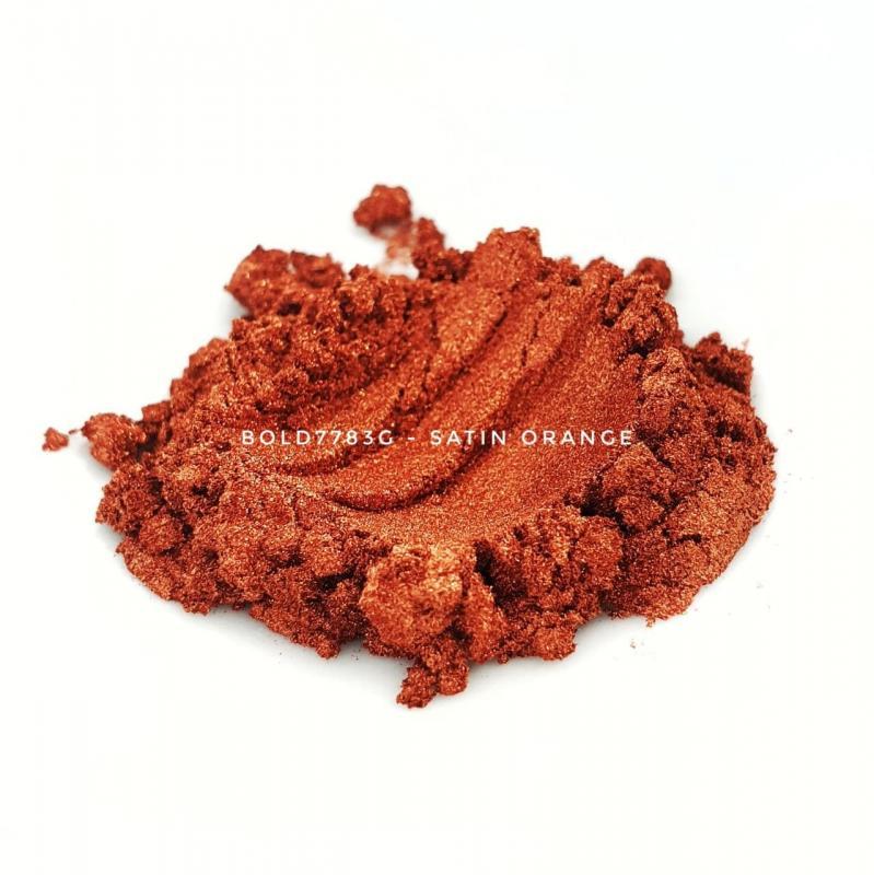 Универсальный пигмент Bold 7783G Super Satin Orange (Оранжевый) 10-45 мкм