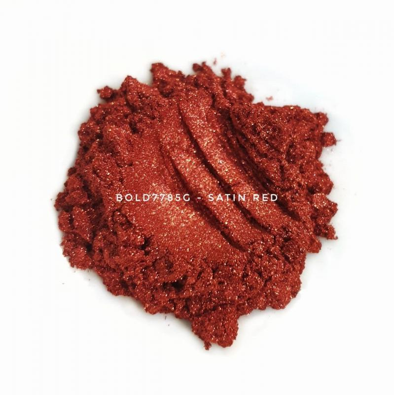 Универсальный пигмент Bold 7785G Super Satin Red (Красный) 10-45 мкм
