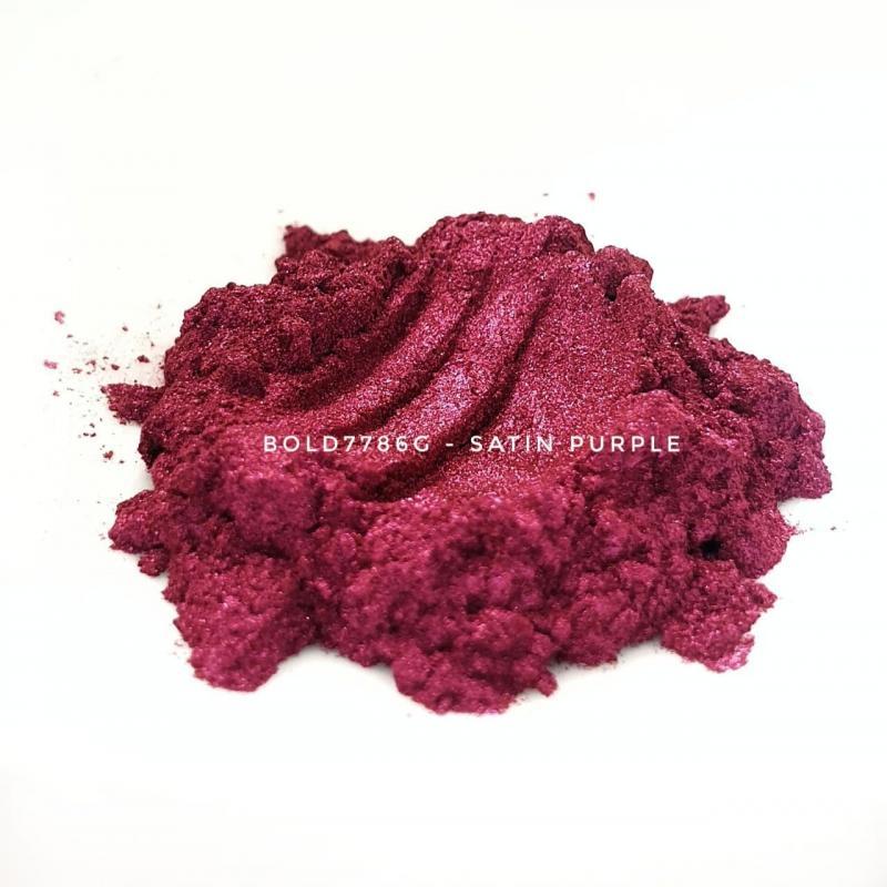 Универсальный пигмент Bold 7786G Super Satin Purple (Пурпурный) 10-45 мкм