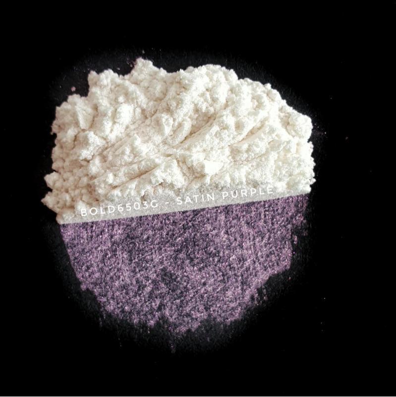 Индустриальный пигмент Bold 6503G Super IrisatedSatin Purple (Пурпурный), 10-45 мкм