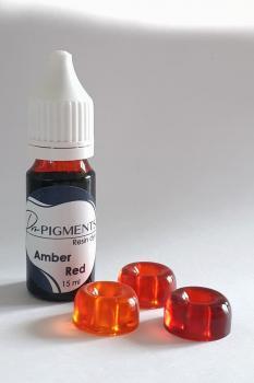Amber Red resin dye - 15 мл