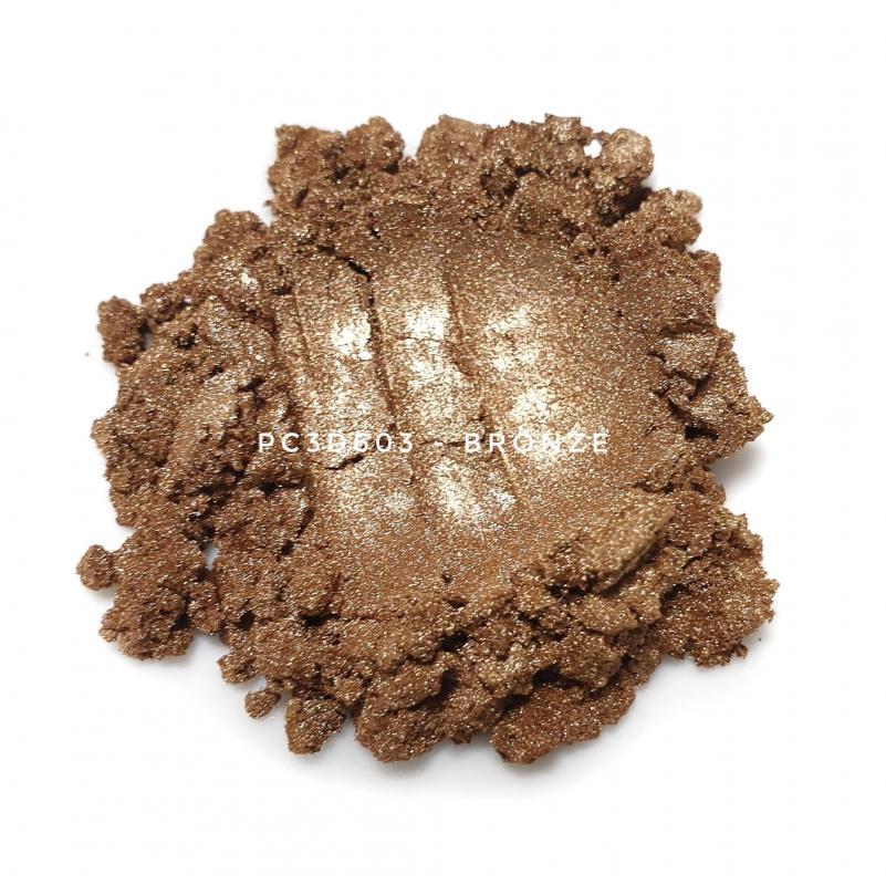 Косметический пигмент PC3D6030 Bronze (Бронзовый), 10-60 мкм