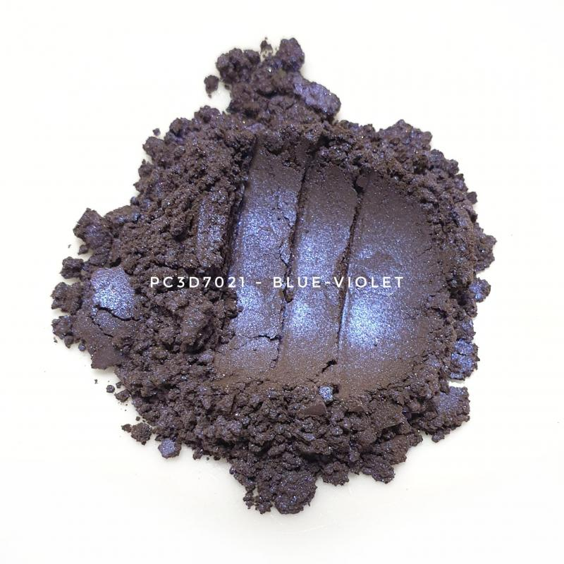 Косметический пигмент PC3D7021 Violet Silver (Фиолетово серебристый), 10-60 мкм
