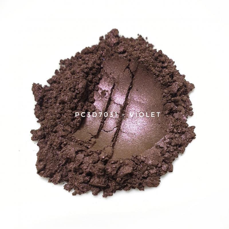 Косметический пигмент PC3D7031 Light Violet Silver (Светлый фиолетово серебристый), 10-60 мкм