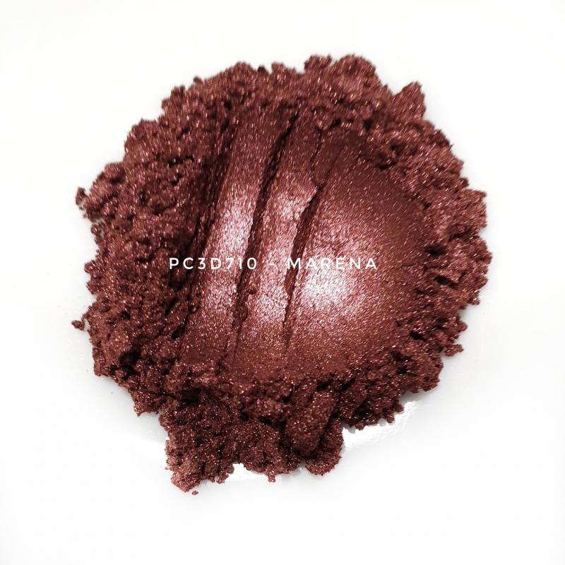 Косметический пигмент PC3D7101 Wine Red (Винно красный), 10-60 мкм