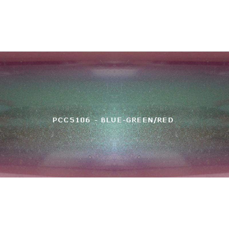 Косметический пигмент PCC5106 Blue-green/blue/violet/red (Сине-зеленый/синий/фиолетовый/красный), 10-60 мкм