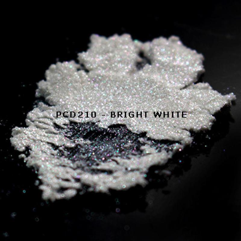 Косметический пигмент PCD210 Bright White (Яркий белый), 10-60 мкм