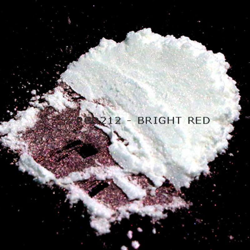 Косметический пигмент PCD212 Bright Red (Яркий красный), 10-60 мкм