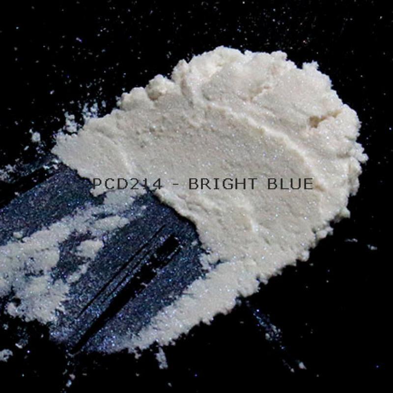 Косметический пигмент PCD214 Bright Blue (Якрий синий), 10-60 мкм