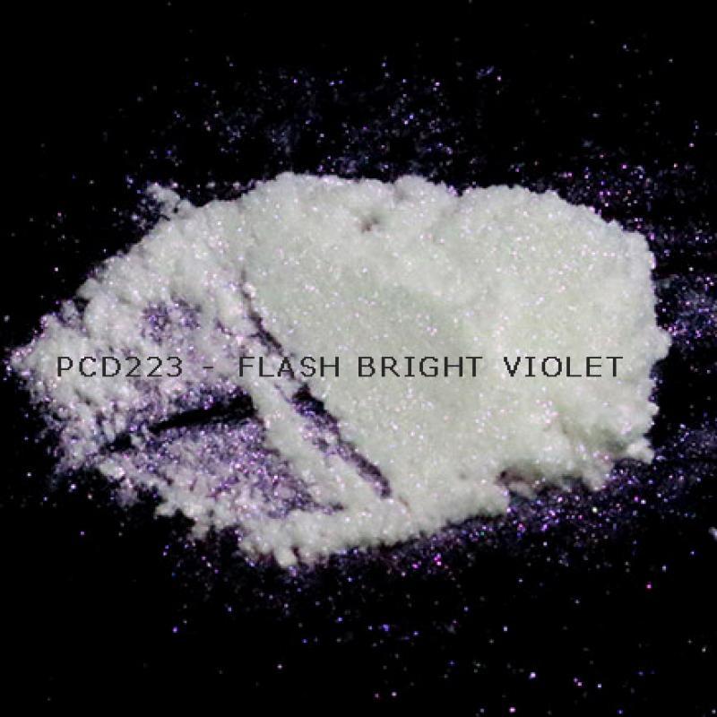 Косметический пигмент PCD223 Flash Bright Violet (Вспыхивающий ярко-фиолетовый), 20-100 мкм