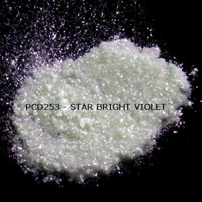 Косметический пигмент PCD253 Star Bright Violet (Звездный ярко-фиолетовый), 50-300 мкм