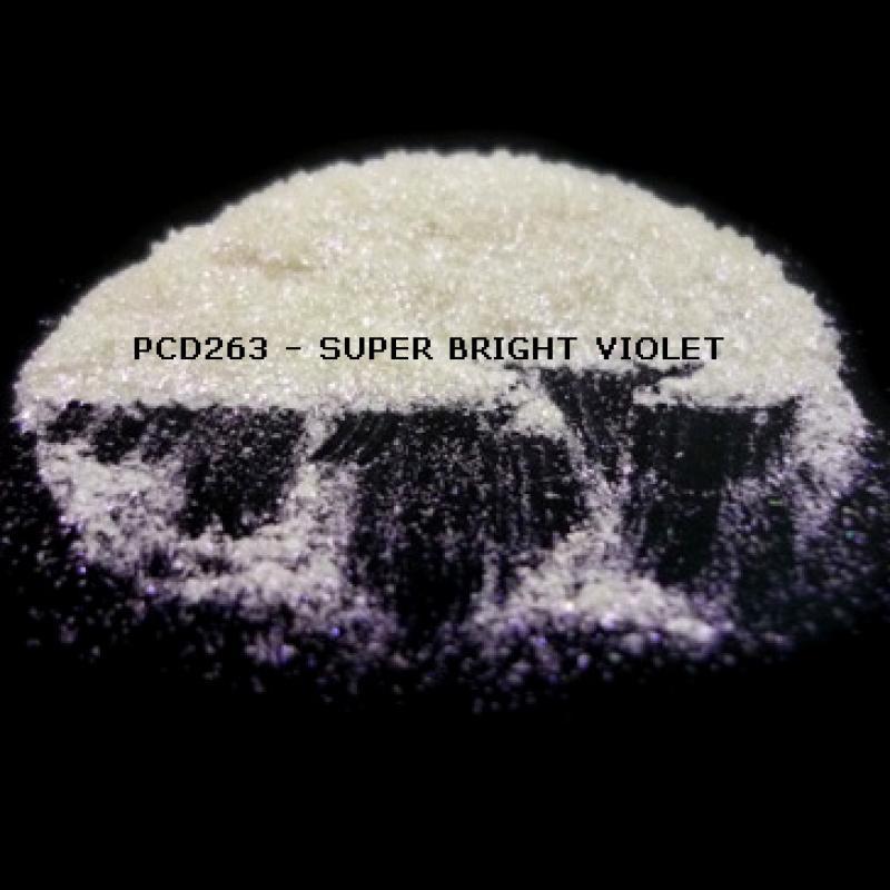 Косметический пигмент PCD263 Super Bright Violet (Сверх ярко-фиолетовый), 60-400 мкм