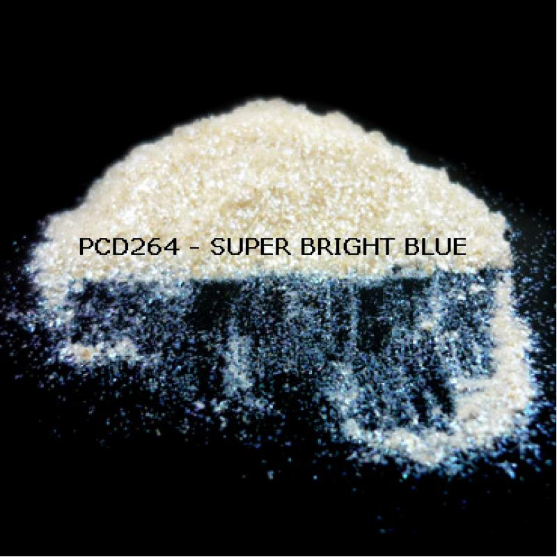Косметический пигмент PCD264 Super Bright Blue (Сверх ярко-синий), 60-400 мкм