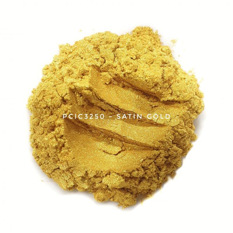 Косметический пигмент PCIC3250 Satin Gold (Атласное золото), 5-25 мкм