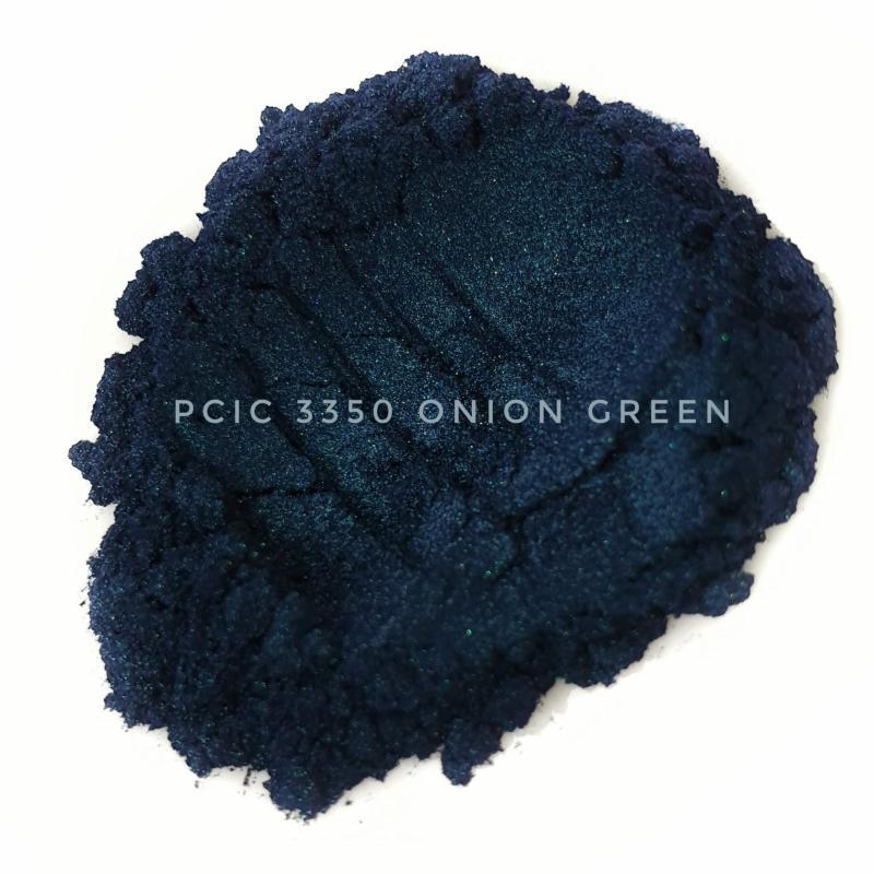Косметический пигмент PCIC3350 Onion Green (Зеленый лук), 10-60 мкм