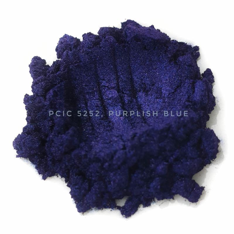 Косметический пигмент PCIC5252 Purplish Blue (Лилово-синий), 10-60 мкм