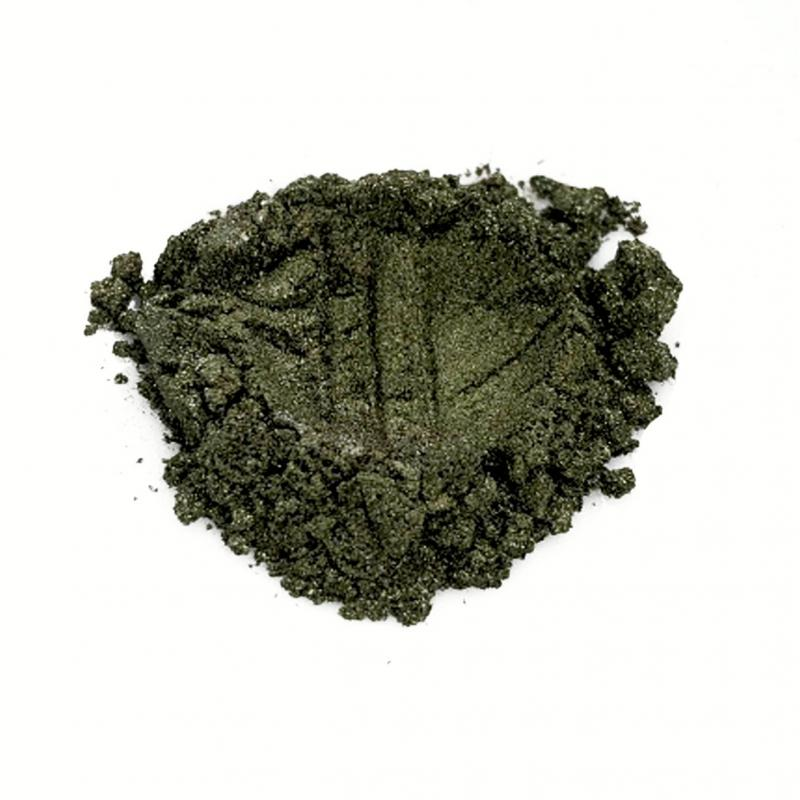 Косметический пигмент PCIC5350 Grass Green (Зеленая трава), 10-60 мкм
