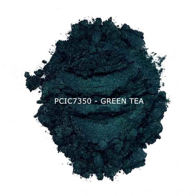 Косметический пигмент PCIC7350 Tea Green (Зеленый чай), 10-60 мкм