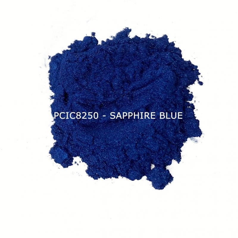 Косметический пигмент PCIC8250 Sapphire Blue (Синий сапфир), 10-60 мкм