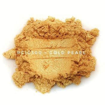 PCIG300 - Золотой перламутр, 10-60 мкм (Gold Pearl)