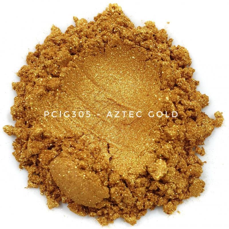 Косметический пигмент PCIG305 Aztec Gold (Золото Ацтеков), 10-60 мкм