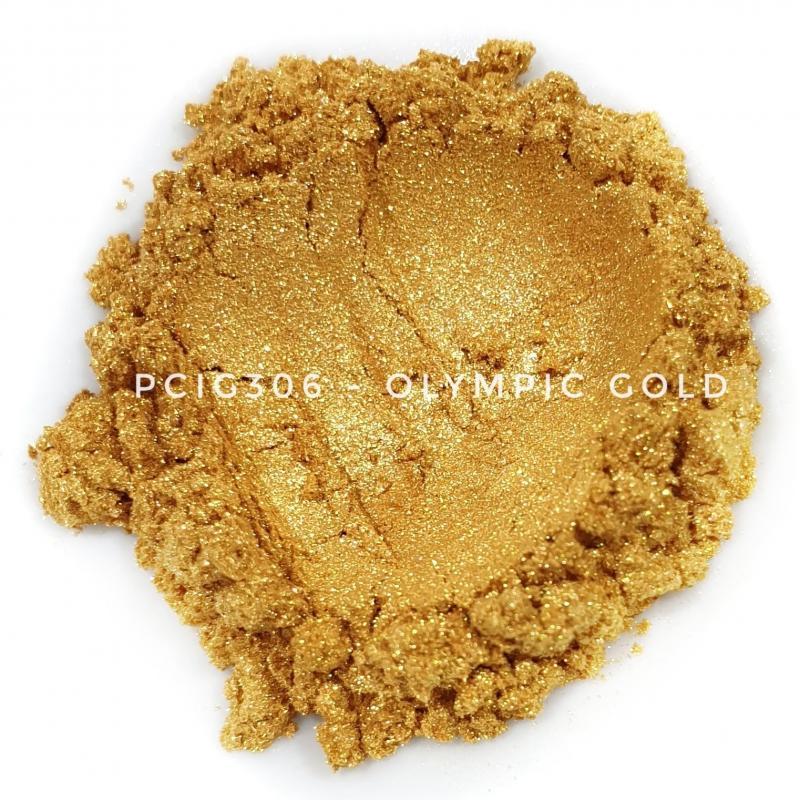 Косметический пигмент PCIG306 Olympic Gold (Олимпийское золото), 10-60 мкм