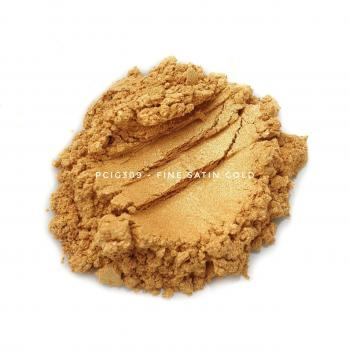 PCIG309 - Мелкое атласное золото, 0-15 мкм (Fine Satin Gold)