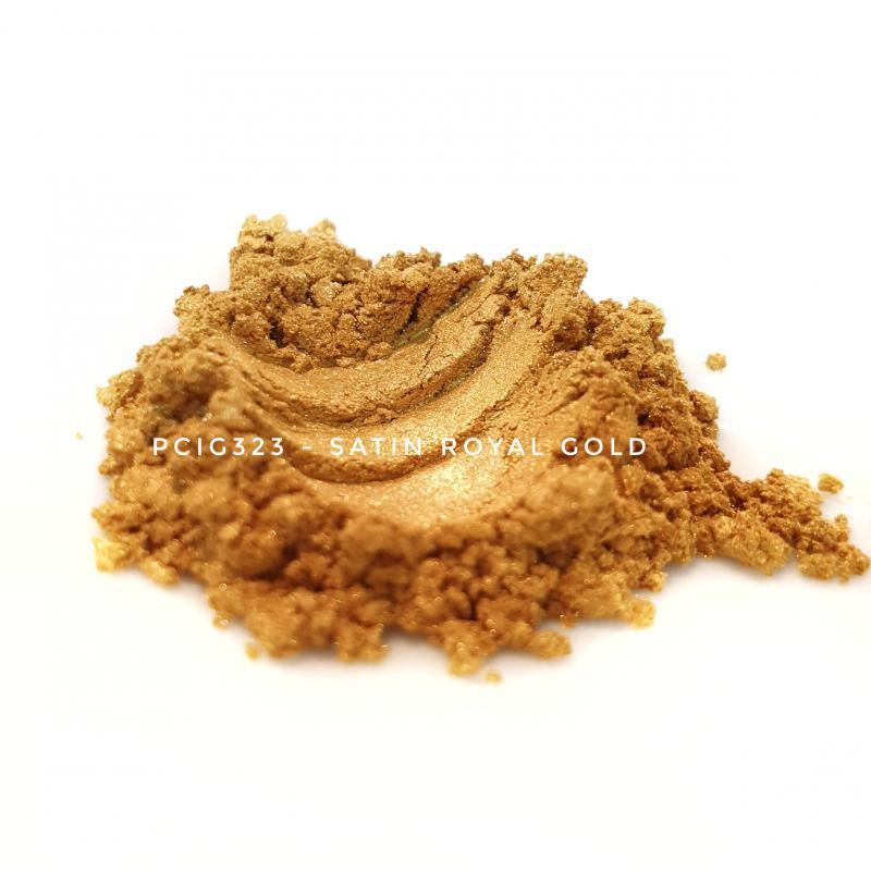 Косметический пигмент PCIG323 Satin Royal Gold (Атласное королевское золото), 5-25 мкм
