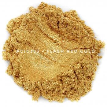 PCIG353 - Крупное красное золото, 10-100 мкм (Flash Red Gold)