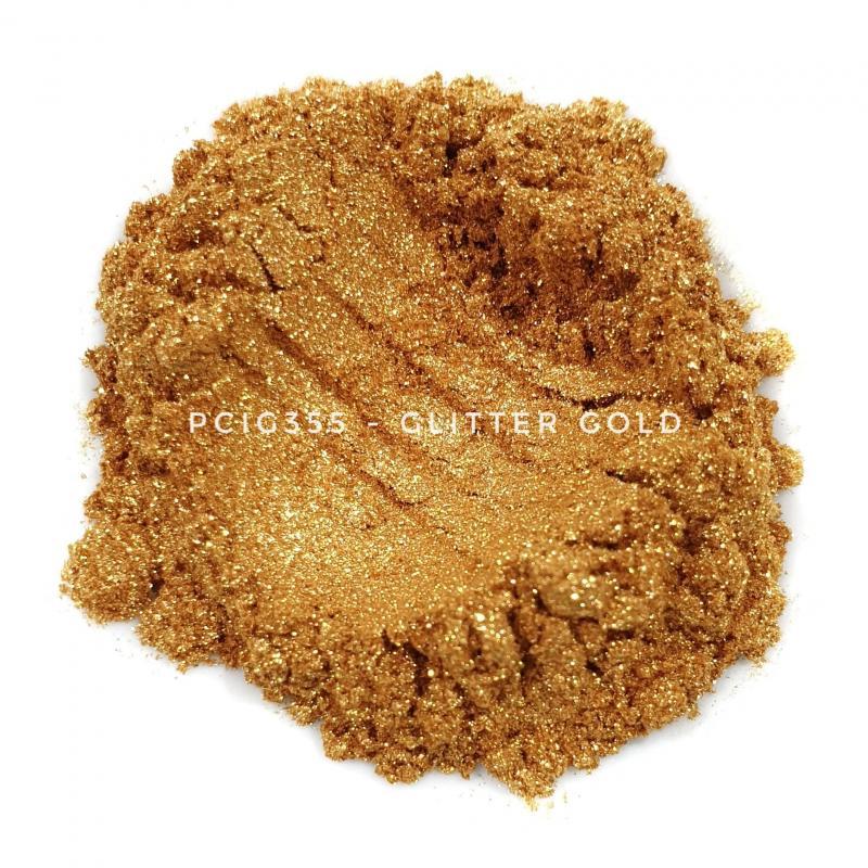 Косметический пигмент PCIG355 Glitter Gold (Блестки золотые), 20-120 мкм