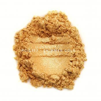 PCIG357 - Мерцающее золото, 20-200 мкм (Shimmer Gold)