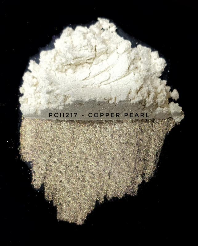 Косметический пигмент PCII217 Copper Pearl (Медный перламутр), 10-60 мкм