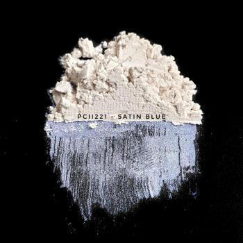 PCII221 - Атласный синий, 5-25 мкм (Satin Blue)
