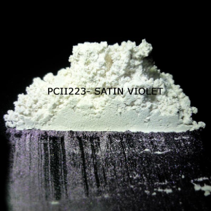 Косметический пигмент PCII223 Satin Violet (Атласный фиолетовый), 5-25 мкм