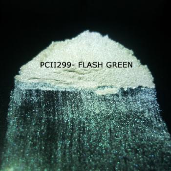 PCII299 - Вспыхивающий зеленый, 10-100 мкм (Flash Green)
