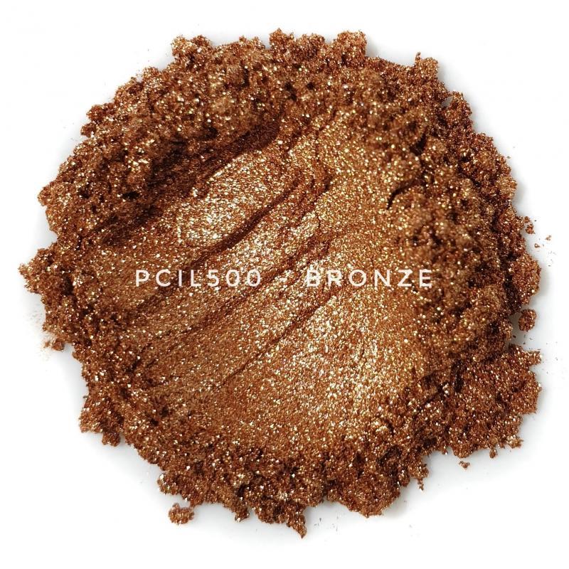 Косметический пигмент PCIL500 Bronze (Бронза), 10-60 мкм