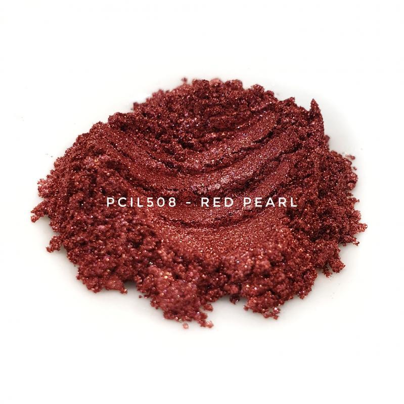 Косметический пигмент PCIL508 Red Pearl (Красный перламутр), 10-60 мкм
