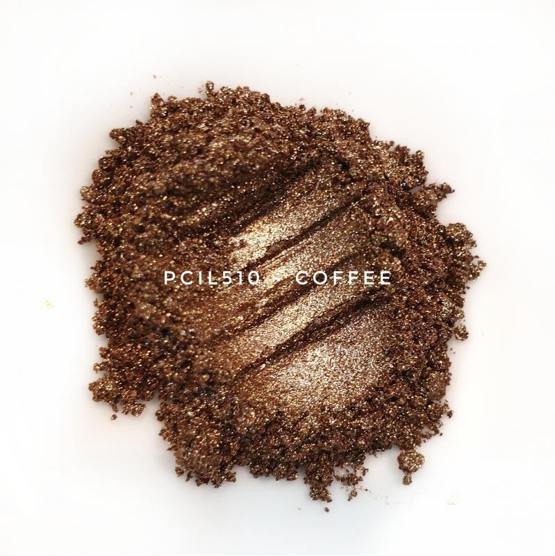Косметический пигмент PCIL510 Coffee (Кофейный), 10-60 мкм