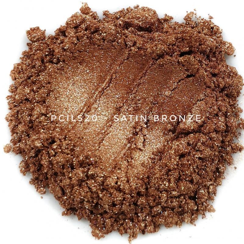 Косметический пигмент PCIL520 Satin Bronze (Атласная бронза), 5-25 мкм